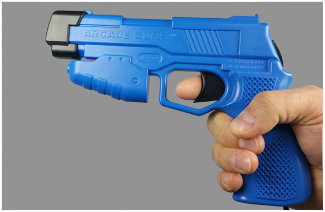 Single Arcade Guns v2.0 Blue Gun Kit